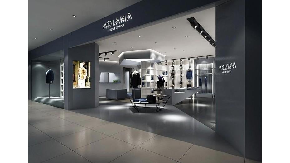 奥拉玛专卖店-专卖店店铺设计
