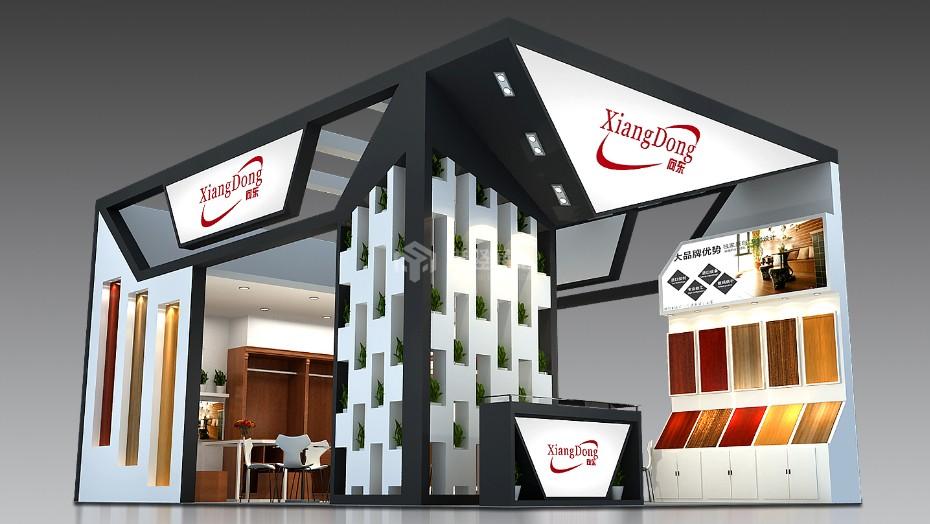 家具展展台设计搭建+向东