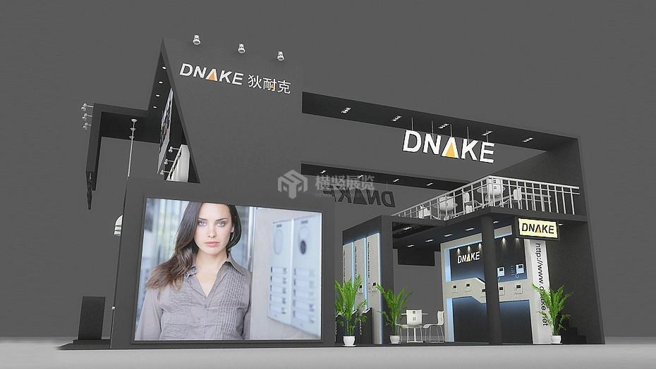 狄耐克-安防电子展展台设计搭建