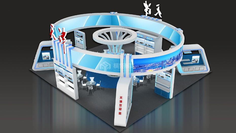 政府展展台设计搭建+天津