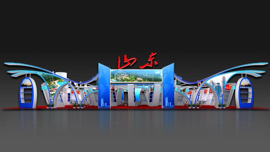 政府展展台设计搭建+山东