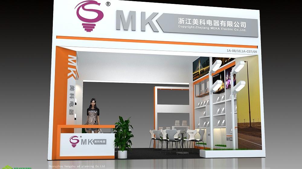 展美科-香港展展台设计搭建