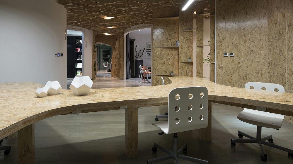 广州汇巢机构-办公室设计
