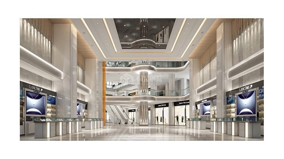 商场中厅-商场展厅设计搭建