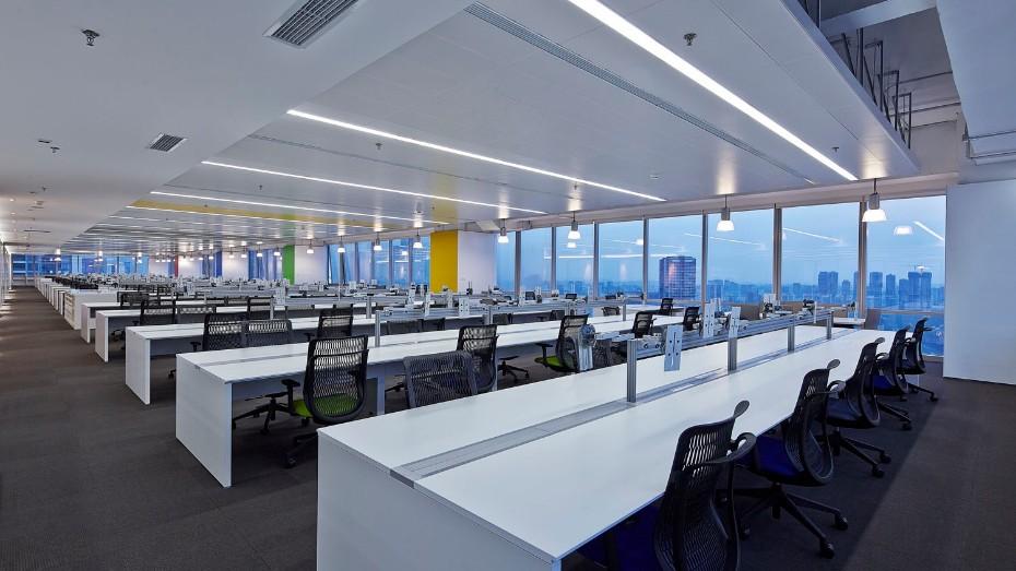 时代办公室-办公室设计搭建