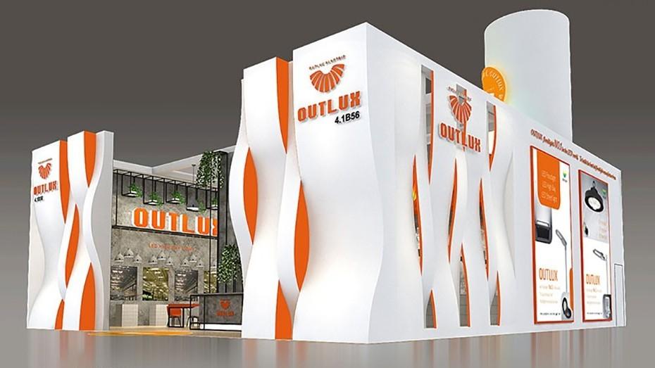 欧陆克+照明展展台设计搭建