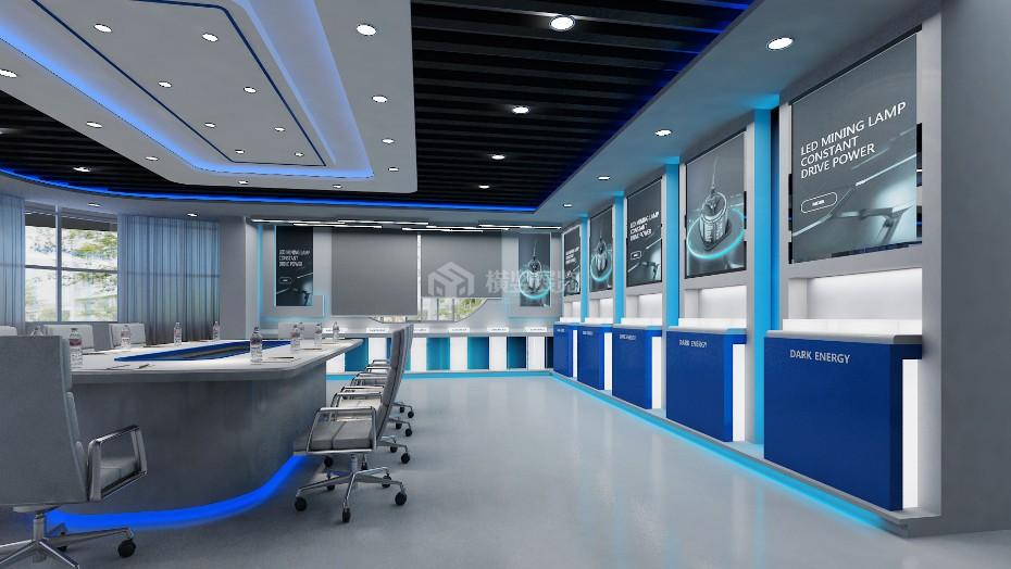 企业展厅设计+暗能量