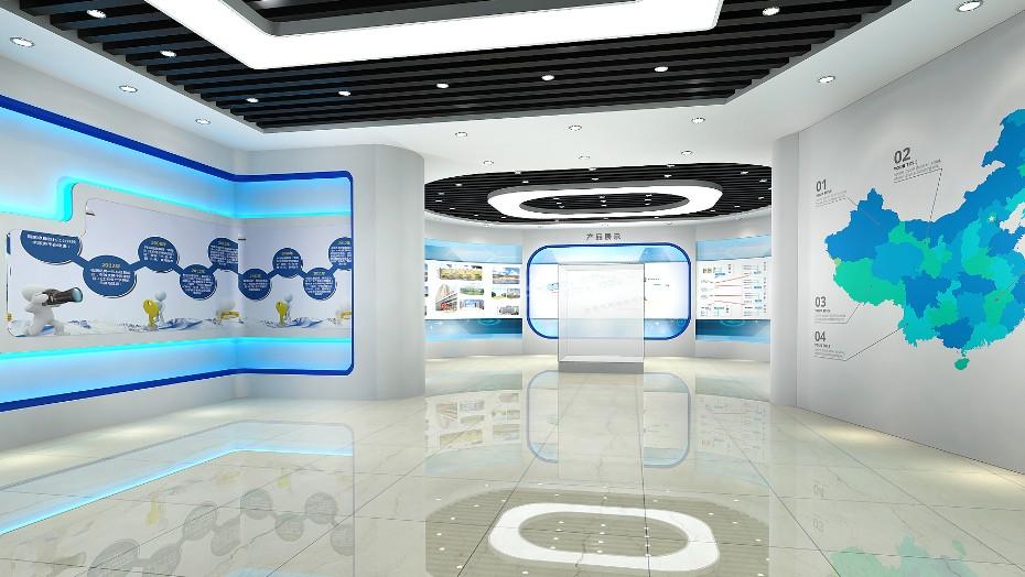 企业展厅设计+贝龙环保
