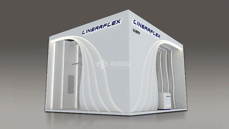 兰凯欣+照明展展台设计搭建