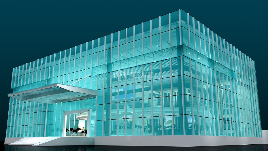 企业展厅设计+富华机械