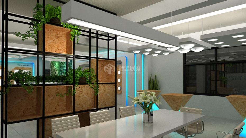 企业展厅设计+惠兴电器