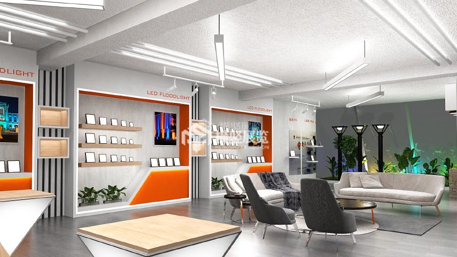 企业展厅设计+欧陆克