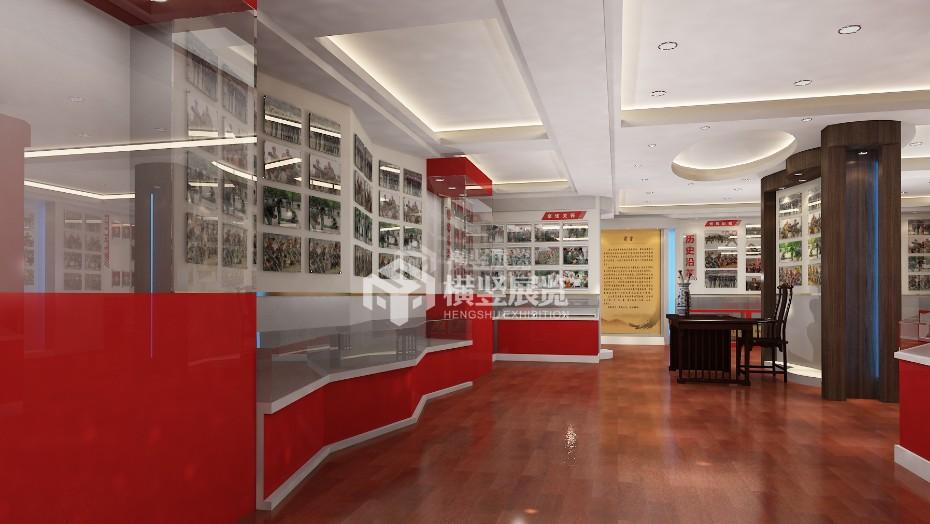 企业展厅设计+武警支队