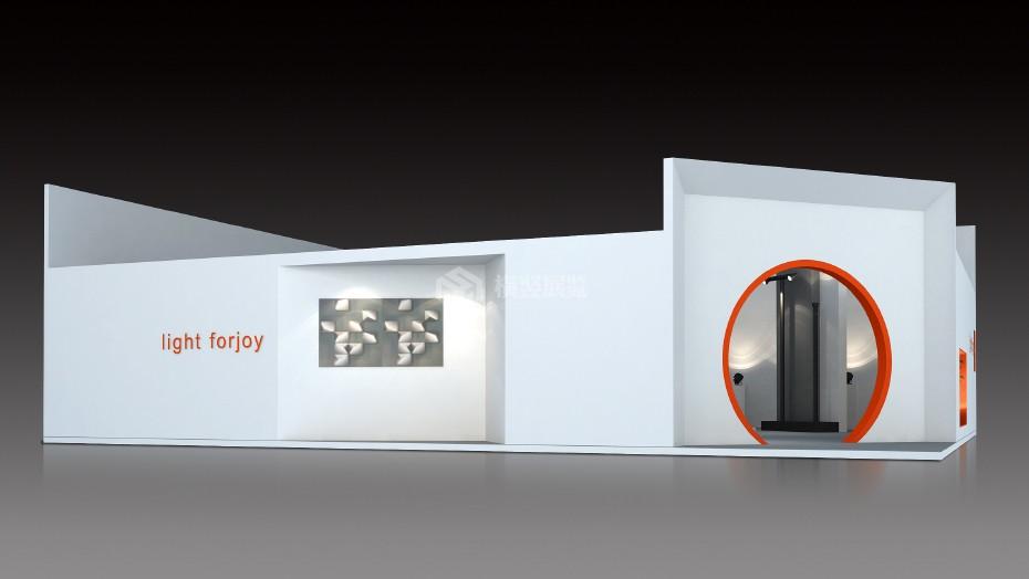 太悦+照明展展台设计搭建