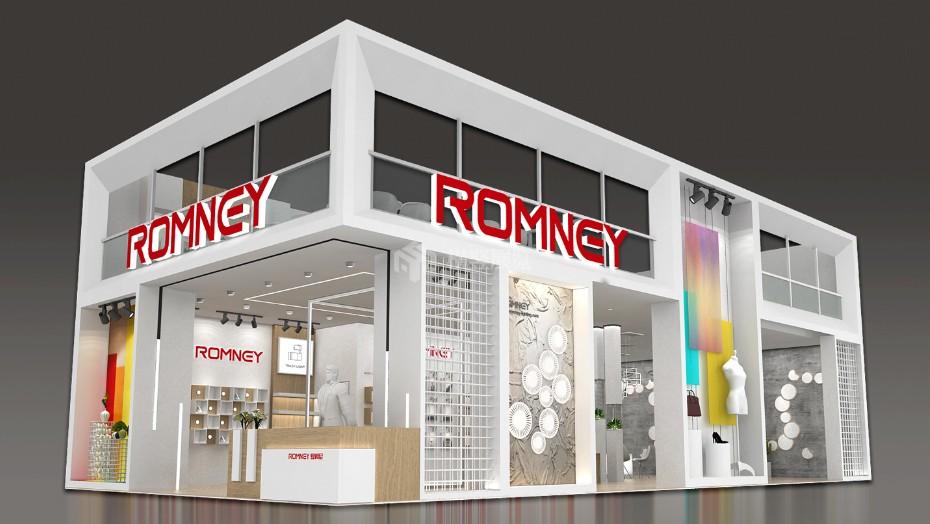 罗姆尼+照明展展台设计搭建