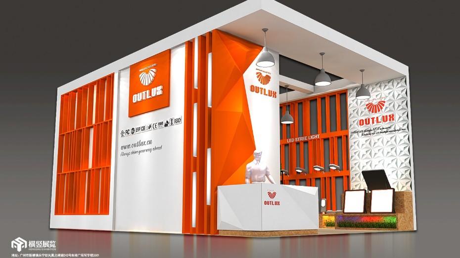 欧陆克-香港照明展展台设计
