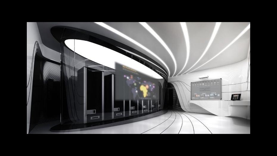 豪迈电子展厅-企业展厅设计
